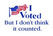 My vote didn't count